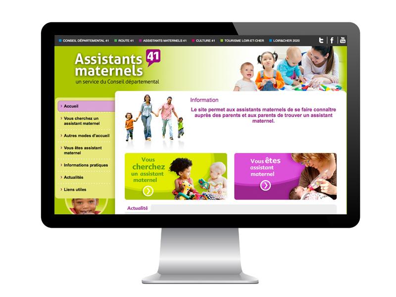 Site des Assistantes Maternelles 41