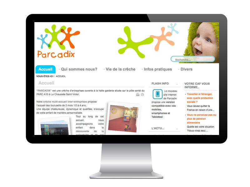 Site Parcadix Crèche Entreprise
